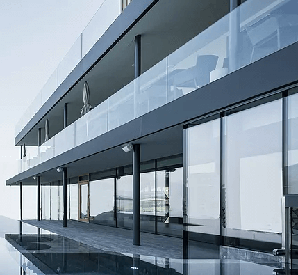 Slimpact Glass Railing