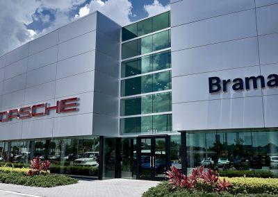 Porsche and Braman
