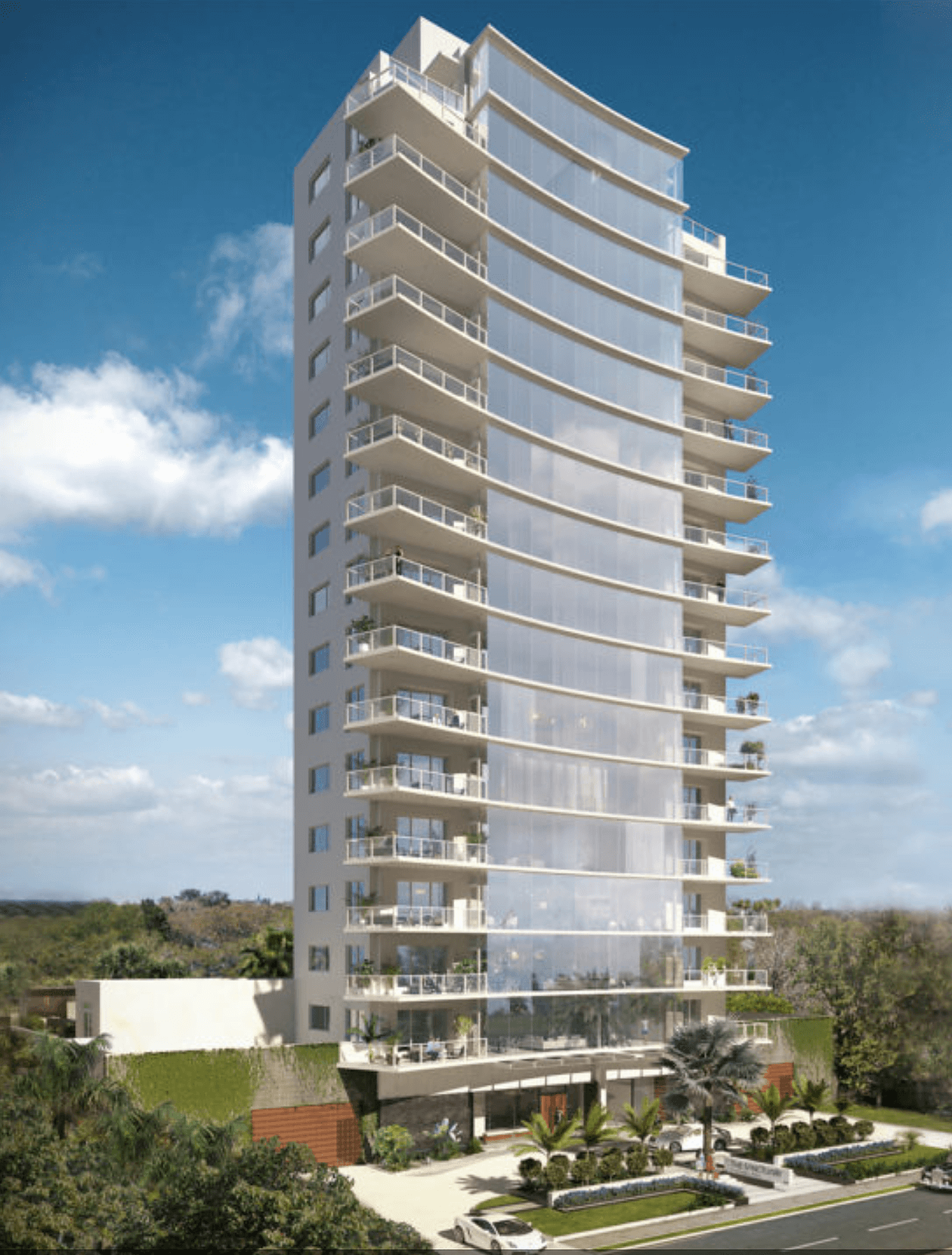 Luxury Condo Tower in Tampa