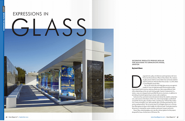 Expression in Glass Article